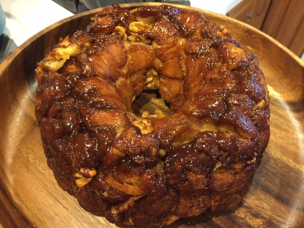 The Easiest Monkey Bread Recipe Ever with @earth_balance and @Pillsbury Crescent Rolls #vegan (1/6)