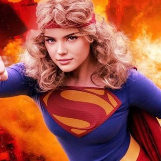 @monicatulay as 1980's Supergirl