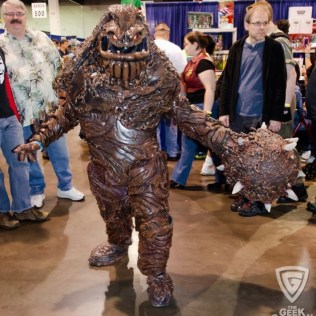 Unknown Cosplayer as Clayface