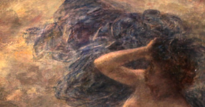social media crop of Goddess Nyx painted by Henri Fantin-Latour (1836–1904), [Public Domain] via Creative Commons