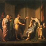 Cleombrotus Ordered Into Banishment By Leonidas II, King Of Sparta, Pated By Benjamin West (1738–1820), [Public Domain] via Creative Commons