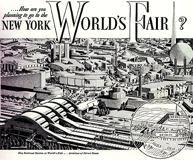 Image result for 1939 – The 1939-40 New York World's Fair opens