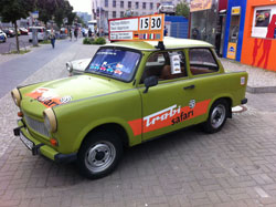 The iconic Trabant