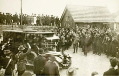 Gun Running at Howth 1914 - Photo: www.irishvolunteers.org