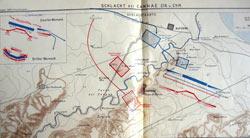 Map by Johannes Kromayer, 1912