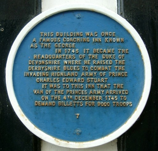 blue plaque derby