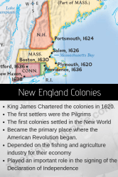 New England Colonies Facts The Heart of the American Revolution