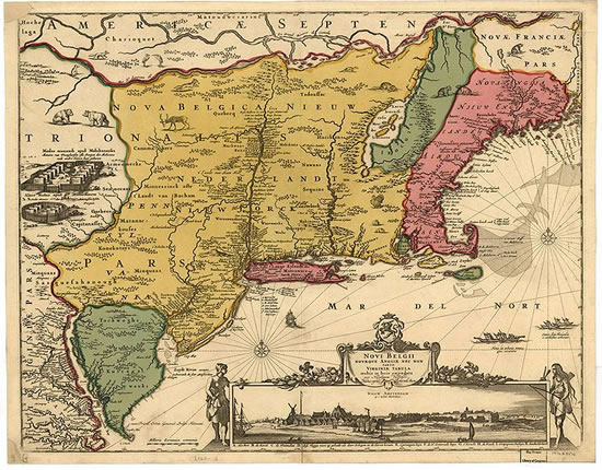 New Jersey Colony Facts And History The History Junkie