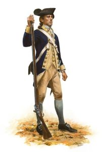Americans in the Revolutionary War