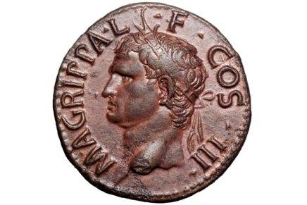 1805 Marcus Agrippa:  Right-Hand Man of Caesar Augustus