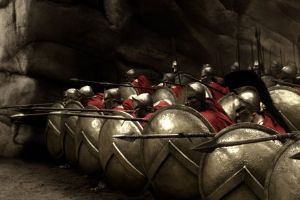 300 vs the real Hoplite