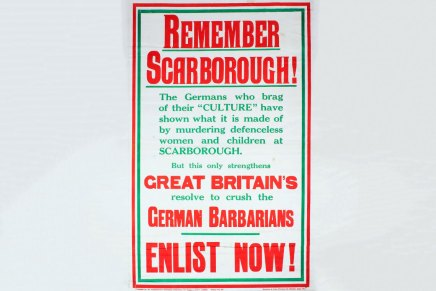 2502 'Remember Scarbrough': A countdown to Total War