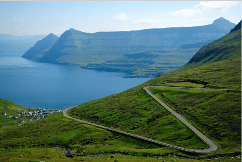 Landscape from the Faroe Islands