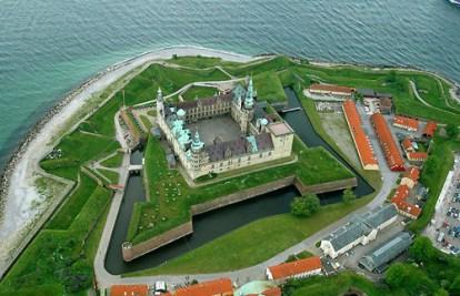 Kronborg Castle - aerial view