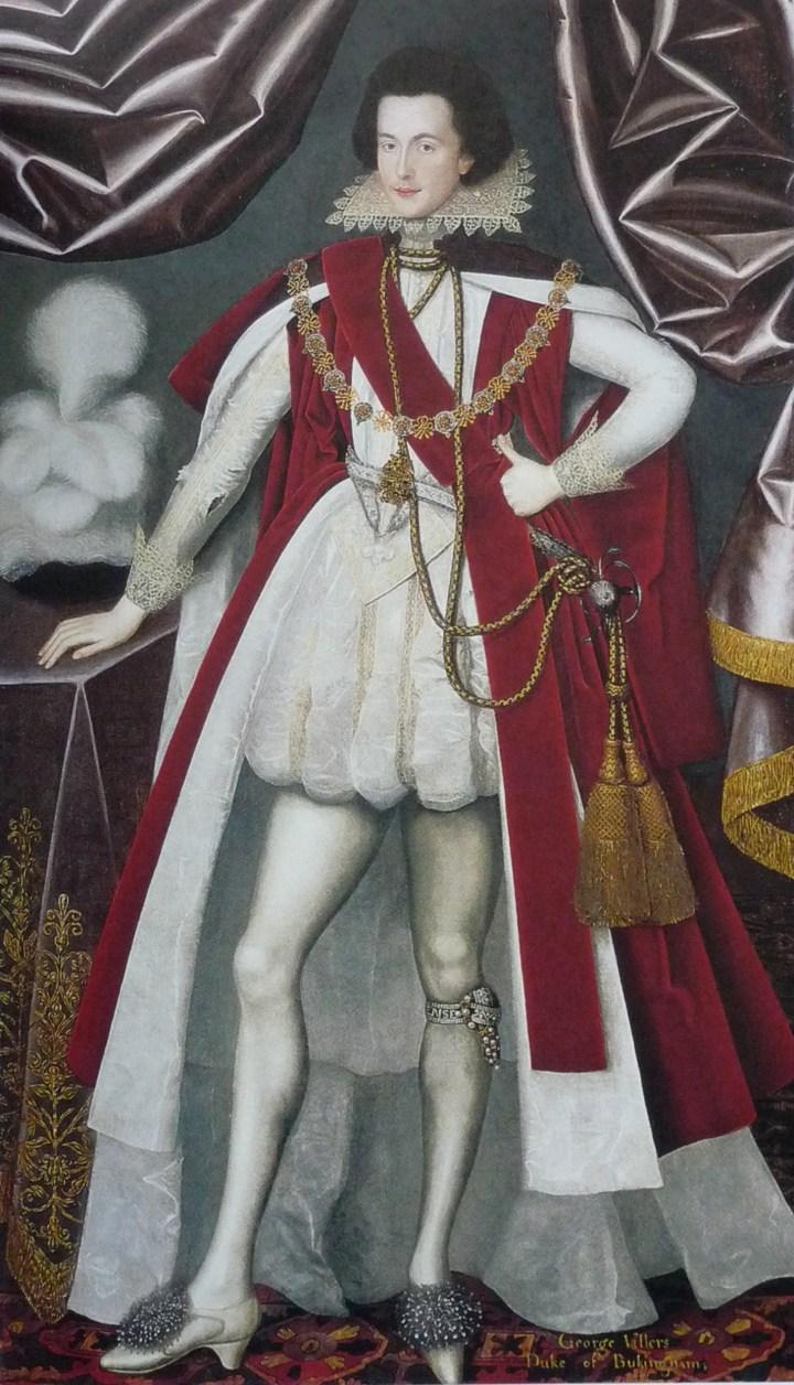 hight resolution of george villiers 1st duke of buckingham c 1616 w larkin