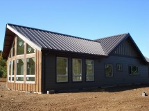 Metal Barn House Plans with Roof