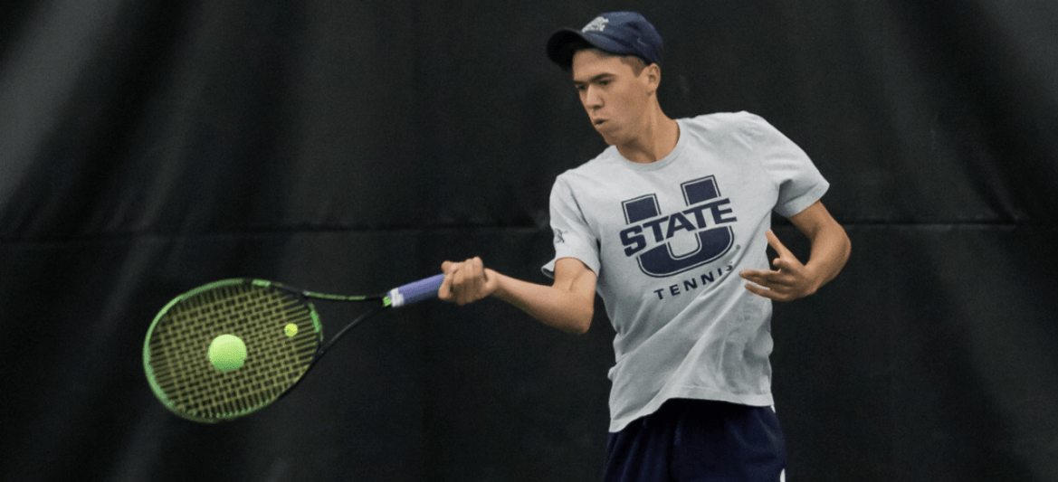 Exclusive: USU men's tennis coach James Wilson on all things Aggie tennis