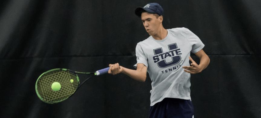Exclusive: USU men's tennis coach James Wilson on all things Aggie tennis