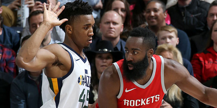 Utah Jazz 2018-19 H2H Rockets Series Preview
