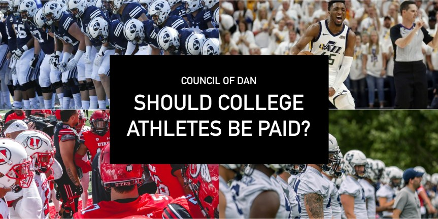 The Council of Dan: to pay or not to pay College Athletes