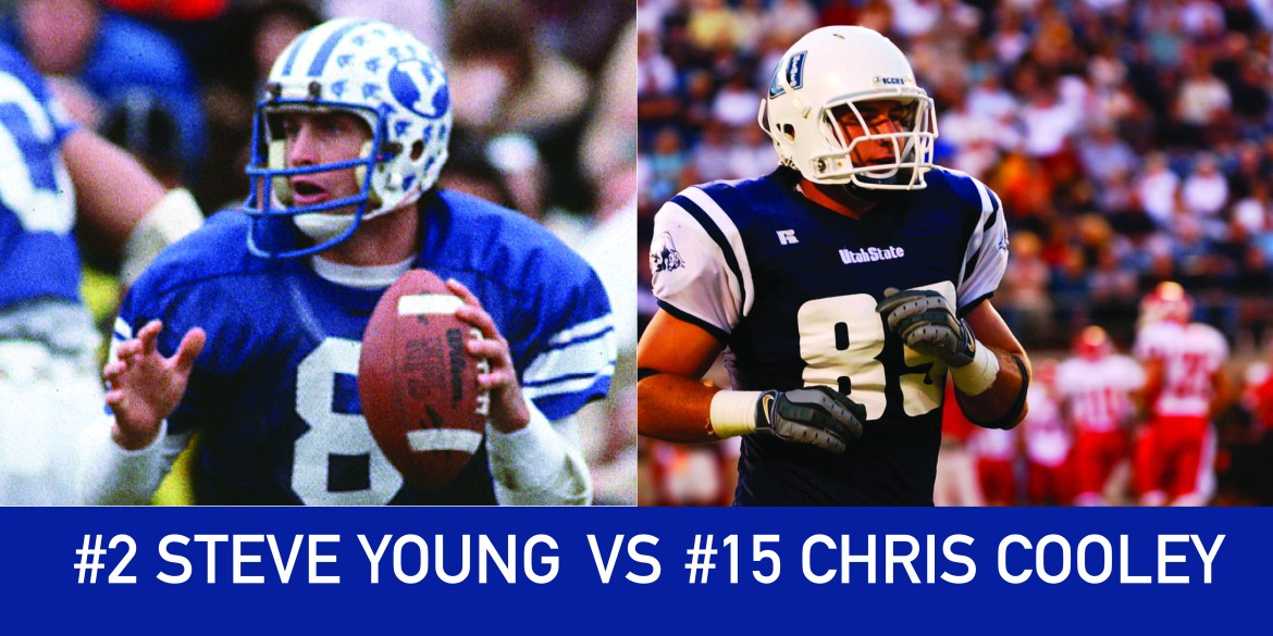 Utah March Madness: 2 Steve Young vs 15 Chris Cooley