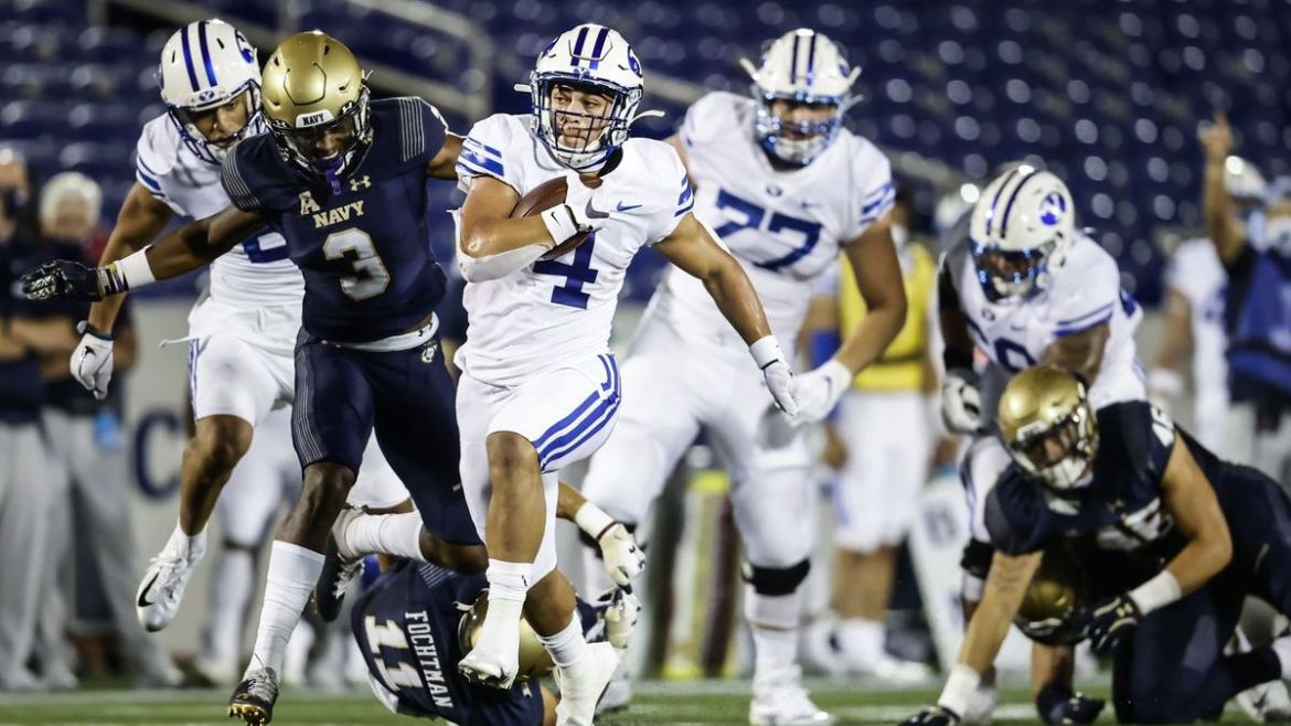 BYU Cougars sink Navy in season opener
