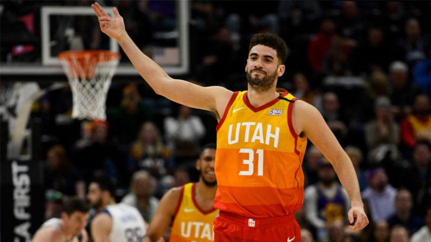 Georges Niang: the 3-1 that the Jazz loves