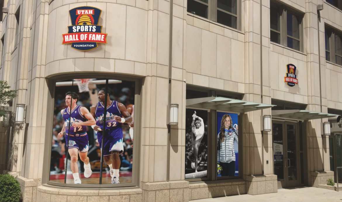 Exclusive look at the Utah Sports Hall of Fame Museum