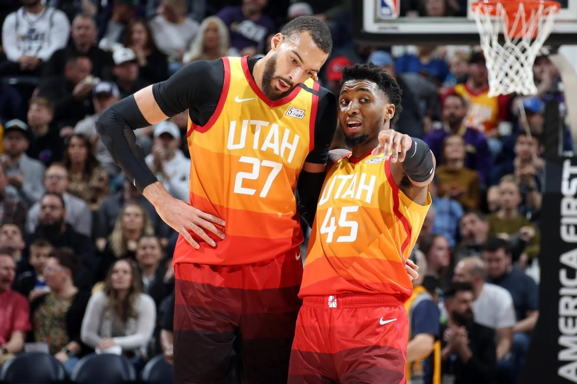 Donovan Mitchell and Rudy Gobert announced as All Stars for Second Consecutive time
