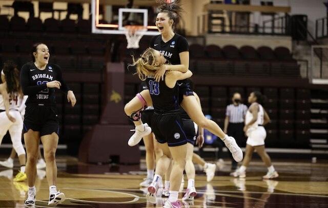 BYU Women defeat Rutgers in first upset of Women's NCAA Basketball Tournament