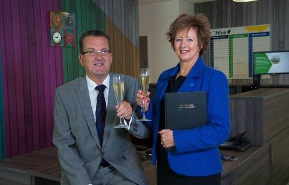 Ian and Joyce Oliver