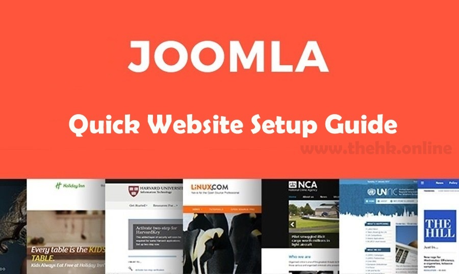 How to Create a Website with Joomla | A Joomla Quick Setup Guide