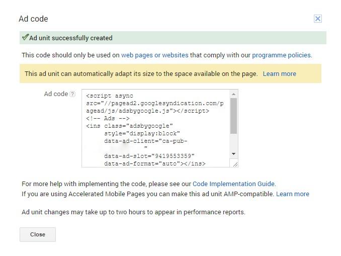 How to Add Adsense Code in WordPress