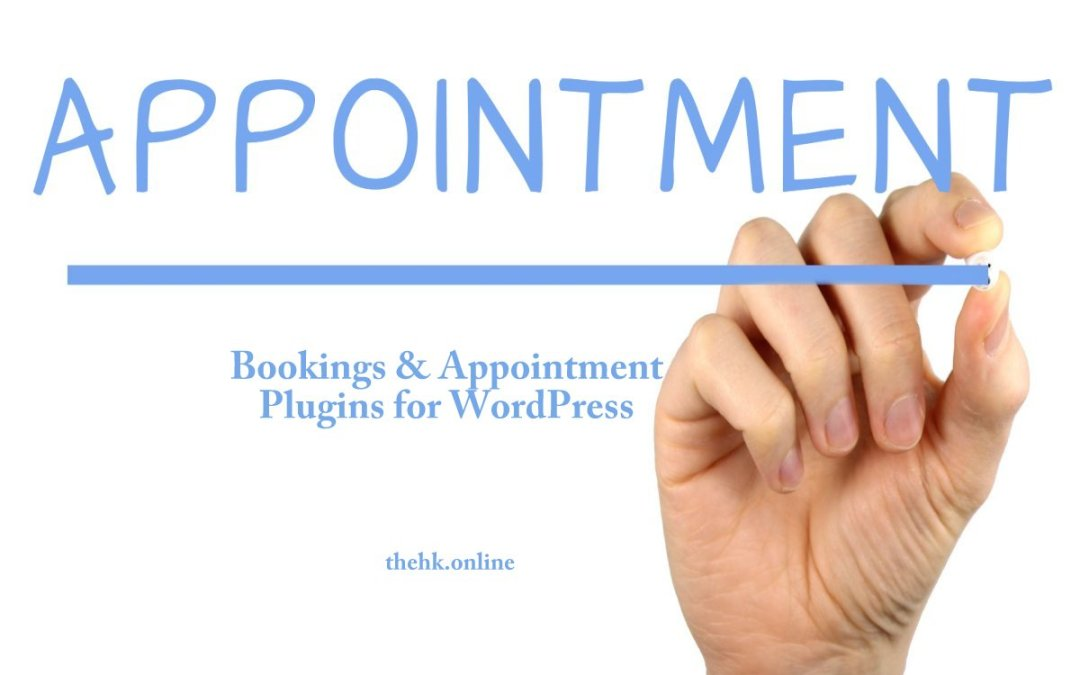 Best Bookings and Appointment Plugins for WordPress