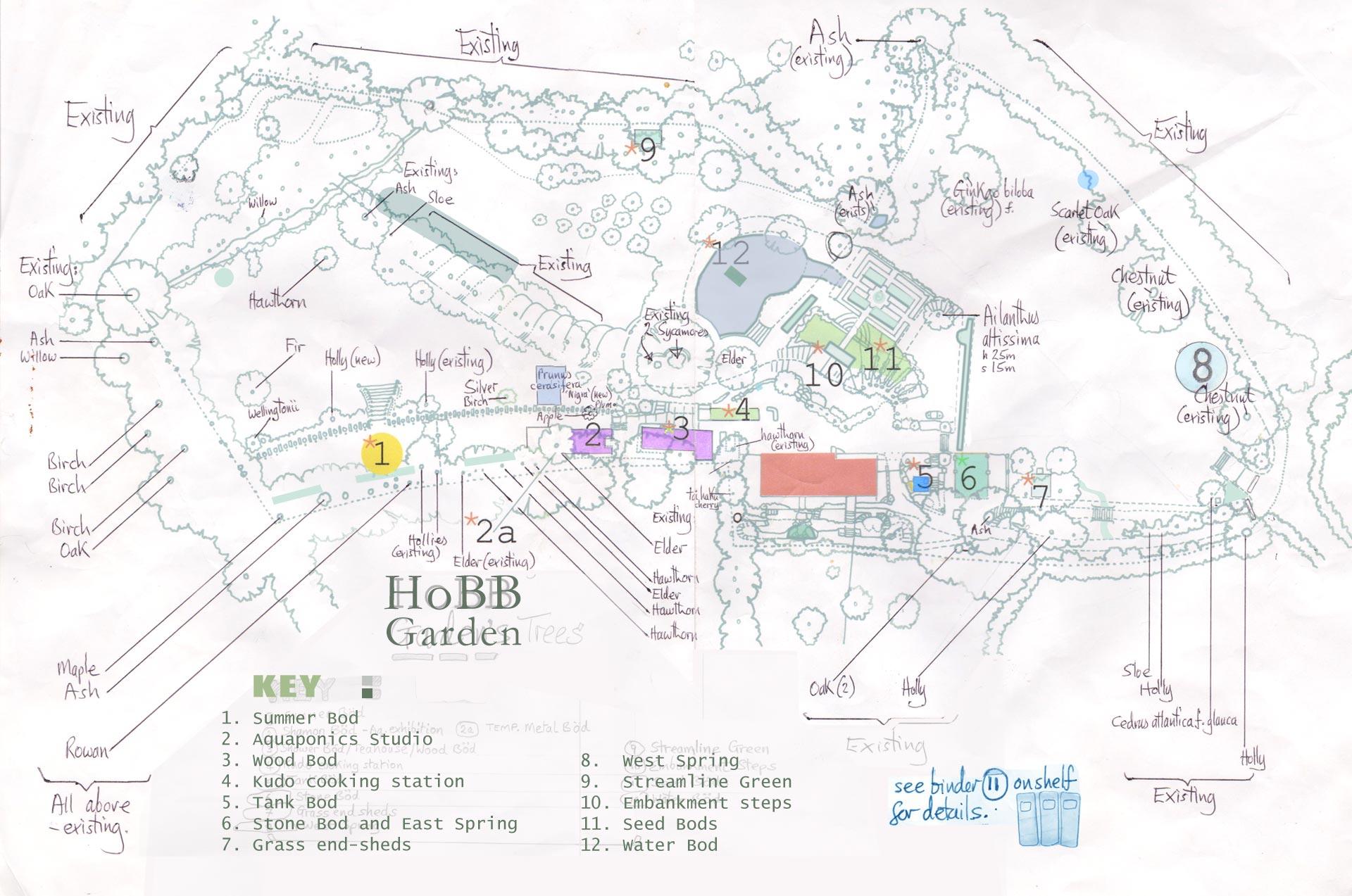 hight resolution of original garden plan