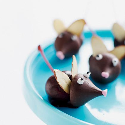 Chocolate Dipped Cherry Mice The Hob Bee Hive