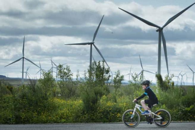 Wind Farm in Scotand