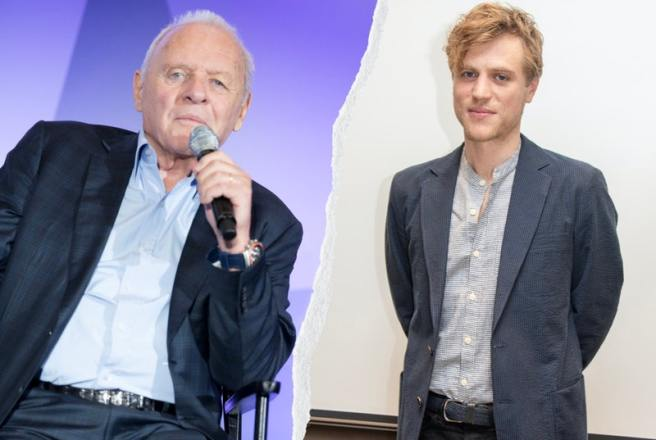 Anthony Hopkins and Johnny Flynn