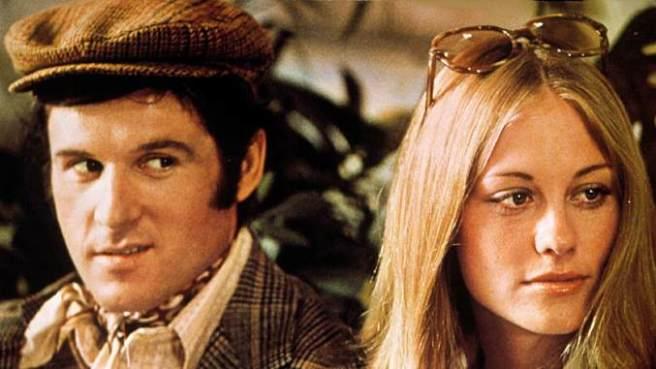"""Charles Grodin and Cybil Shepard in """"The Heartbreak Kid"""""""