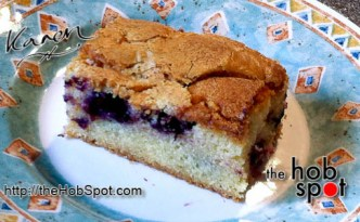 Blueberry and White Chocolate Cake Recipe