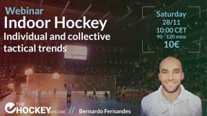 Indoor hockey Bernardo Fernandes