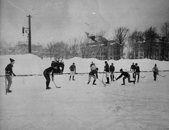 who invented hockey