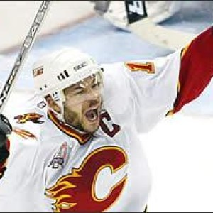 Iginla, during the magical 2004 Cup run.