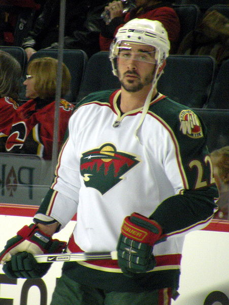 Clutterbuck is on the mend, and the Wild needs his grit.  (Source: Resolute, via Wikipedia Commons)