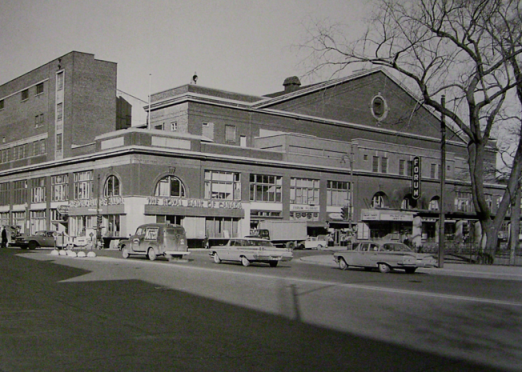 The Montreal Forum 1955