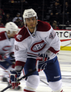 Lapierre came up with the Canadiens (Resolute/wikimedia)