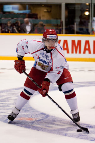 Jets forward Alexander Burmistrov won't be in Winnipeg next season after signing a two-year deal to play in the KHL. {Photo Credit: Dustin Hall @ http://www.dustinhall.ca}