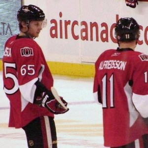 Erik Karlsson and Daniel Alfredsson are Leading the Way Offensively in Ottawa (Andrew Rodger THW)