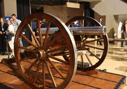 The Blue Jackets' Goal Cannon/Columbus Blue Jackets