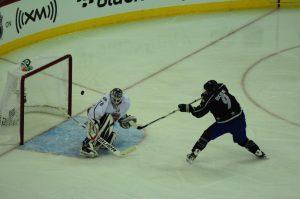 Matt Duchene @ 2011 All-Star Game {Photo: Tom Turk/THW}